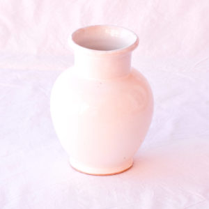 Handmade homeware table setting dinnerware white ceramic vase.jpg